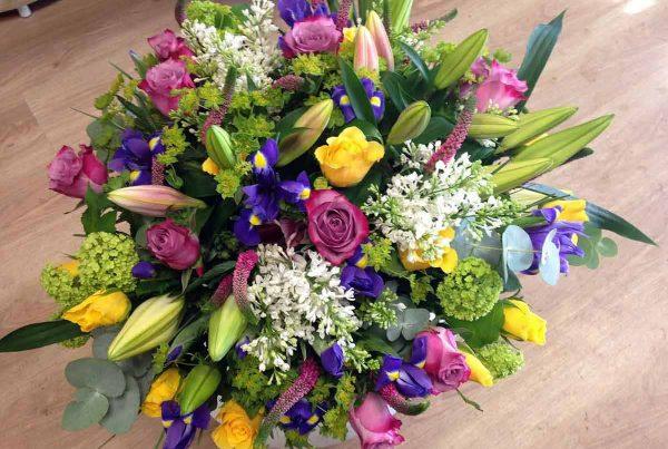 Composition Lilas Fleurs
