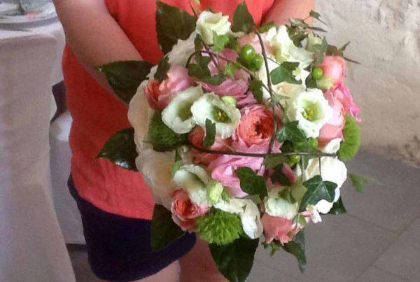 Création de bouquet de mariée
